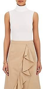 Wolford Women's Jersey Turtleneck Bodysuit - White