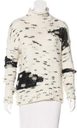 Line Mélange Knit Sweater