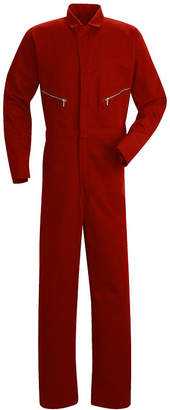 JCPenney Red Kap Zip-Front Cotton Coveralls-Big & Tall