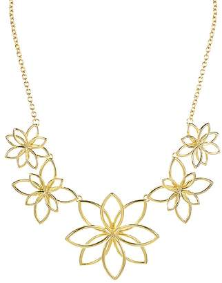 "Aqua Floral Necklace, 16"" - 100% Exclusive"