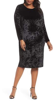 MICHAEL Michael Kors Panne Velvet Dress
