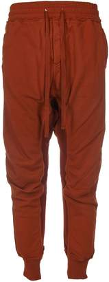 Haider Ackermann Distressed Detail Track Pants