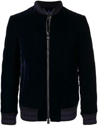 Billionaire velvet bomber jacket