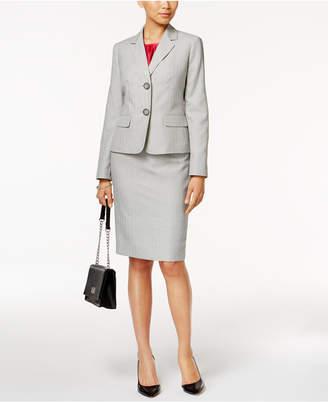 Le Suit 3-Pc. Pinstriped Skirt Suit $240 thestylecure.com