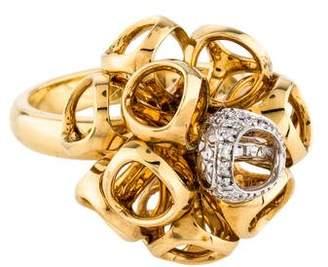 Di Modolo 18K Diamond Icona Cluster Ring