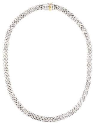 Fope 18K Woven Chain Necklace