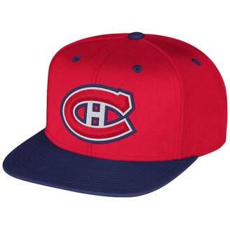 Reebok NHL Montreal Canadiens Multi Color Flat Brim Snapback Cap