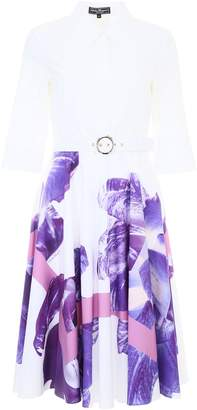 Salvatore Ferragamo Dress With Floral Print