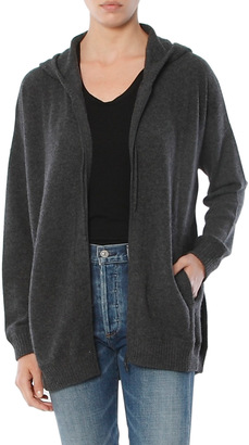 Minnie Rose Oversized Zip Up Hoodie $348 thestylecure.com