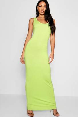 boohoo Scoop Neck Maxi Dress