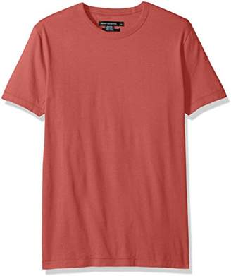 French Connection Men's Short Sleeve Slim Fit Solid Color Crew Neck T-Shirt