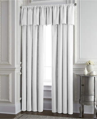Colcha Linens Cambric White Tailored Valance Bedding
