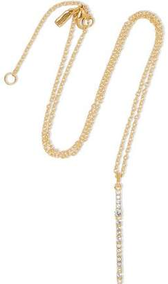 Elizabeth & James Elizabeth And James Woman Gold-tone, Crystal And Stone Necklace Gold Size
