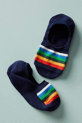 Pendleton Crater Lake Striped No-Show Socks