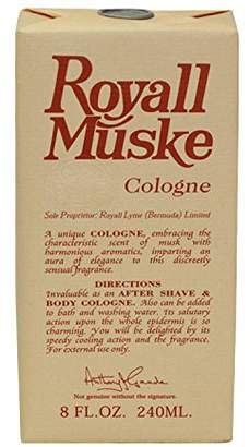 Royall Fragrances Royall Muske By FOR MEN 8 oz All Purpose Lotion/Cologne