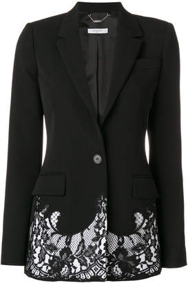 Givenchy lace embroidered blazer