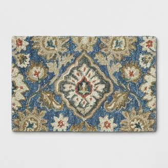 Threshold Jacobean Floral Tufted Rug