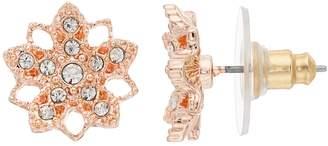 Lauren Conrad Openwork Nickel Free Flower Stud Earrings