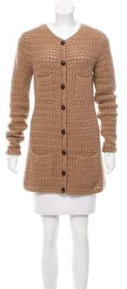 Michael Kors Button-Up Cashmere Cardigan