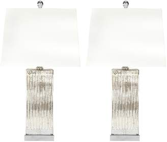 Safavieh Rock Crystal Table Lamps (Set of 2)