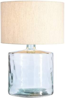 Pottery Barn Mallorca Recycled Glass Table Lamp Base