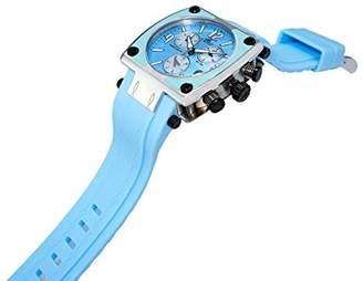 Adee Kaye Women's AK4051-L-BLU Shox Swiss ISA Quartz Chronograph Movement