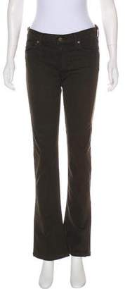 Citizens of Humanity Mid-Rise Straight Jeans