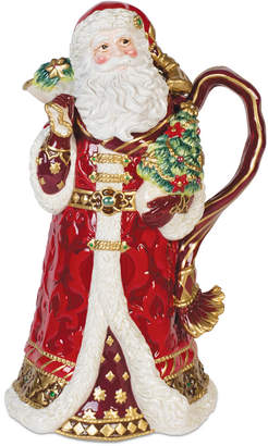 Fitz & Floyd Renaissance Holiday Santa Pitcher