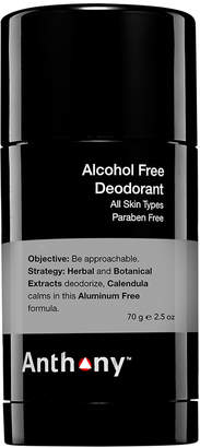 Anthony Logistics For Men Alcohol Free Solid Stick Deodorant