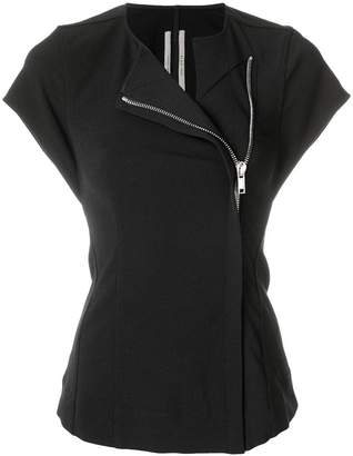 Rick Owens fitted zipped blouse