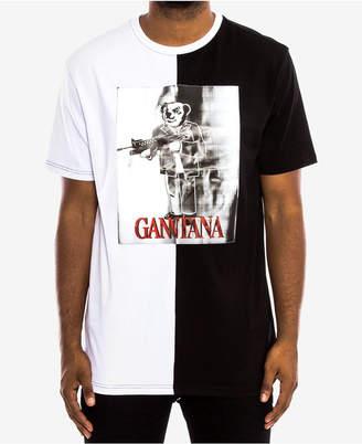 Hudson Nyc Men's Split Graphic-Print T-Shirt
