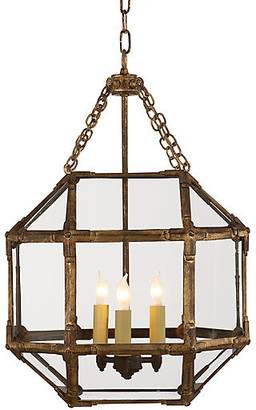 Visual Comfort & Co. Morris Lantern - Antiqued Gold/Clear