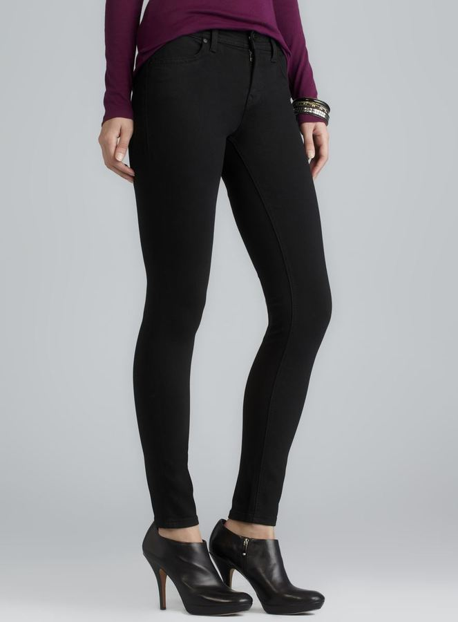 Level 99 Black High Rise Skinny Jeans
