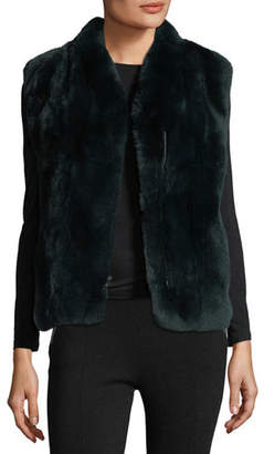 Pologeorgis Zip-Front Fur Vest