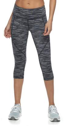 Tek Gear Women's Space-Dyed Performance Capris