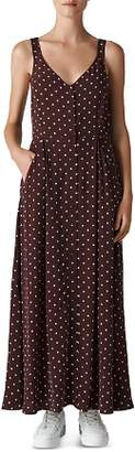 Whistles Dot Print Maxi Dress