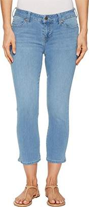 Liverpool Jeans Company Women's Milly Hugger Capri Shaping and Slimming 4-Way Stretch Denim