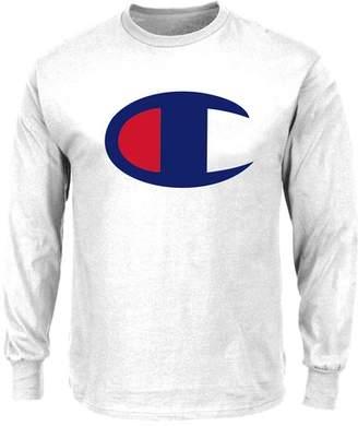 Champion Long Sleeve Large Logo Shirt (Big & Tall)