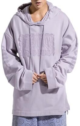 FENTY Puma x Rihanna Lace-Up Hooded Sweatshirt $130 thestylecure.com