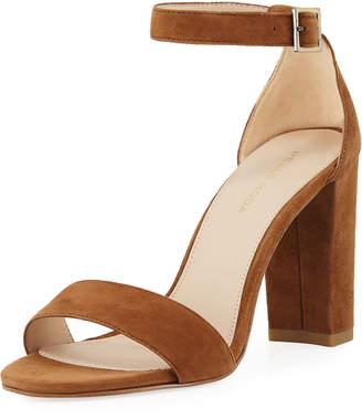 Pelle Moda Bonnie High Suede Sandals