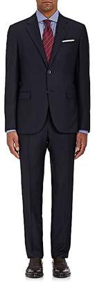 Barneys New York MEN'S MICRO-STRIPED WOOL TWO-BUTTON SUIT