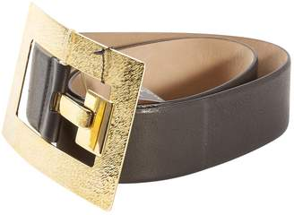 Roberto Cavalli Black Leather Belts