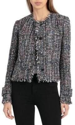 Bagatelle V-Neck Tweed Jacket