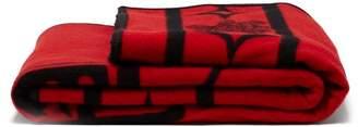 Pendleton Raven Wool Blend Blanket - Red
