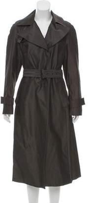 Akris Belted Long Coat