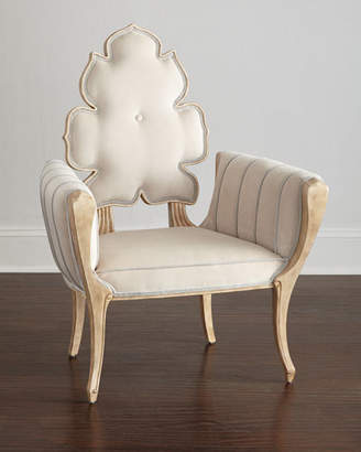 Global Views Julia Buckingham for Pearl Wiggle Chair