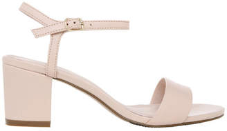 Basque Romina Nude Leather Sandal