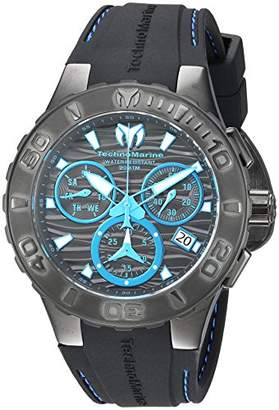 Technomarine Men's 'Cruise' Quartz Stainless Steel and Silicone Casual Watch