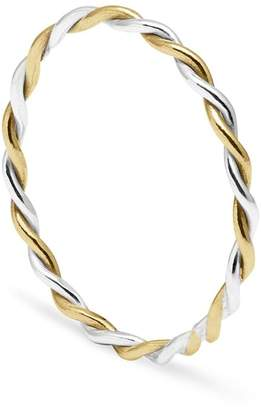 Myia Bonner 9ct Yellow Gold & Silver Twist Ring