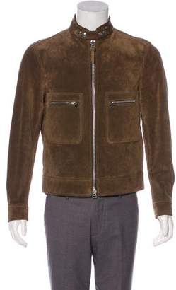 Tom Ford Suede Zip-Up Jacket